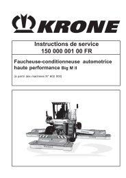 Instructions de service 150 000 001 00 FR