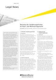 Legal News – Oktober 2012 - Home - Ernst & Young - Schweiz