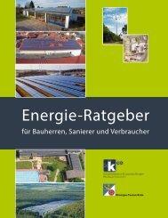 Energie-Ratgeber - Kompetenzzentrum Erneuerbare Energien ...