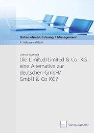 Die Limited/Limited & Co. KG - eine Alternative zur deutschen GmbH ...