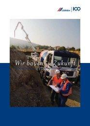 Wir bauenDIE Zukunft Wir bauenDIE Zukunft - CEMEX Austria AG