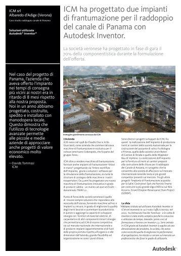 ICM Canale Panama - Autodesk