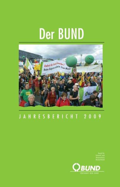 Jahresbericht 2009 - BUND für Umwelt und Naturschutz Deutschland