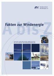 BWE A bis Z 2005.indd - Agentur für Erneuerbare Energien