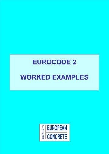 EUROCODE 2 WORKED EXAMPLES - Federbeton