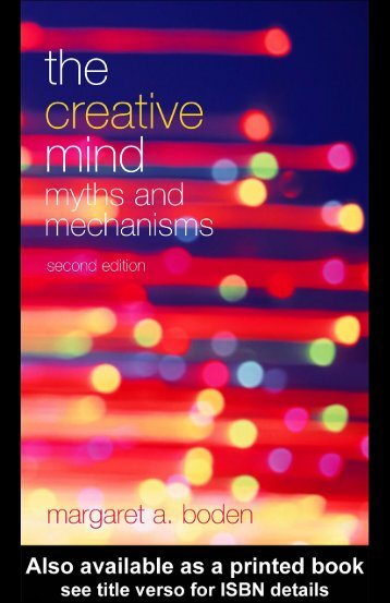 The Creative Mind: Myths and Mechanisms, Second Edition - Index of