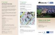 Böden in der Stadt - European Soil & Land Alliance