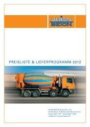 Preisliste 2013 Beton - Sb-solnhofen.de