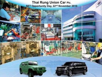 Thai Rung Union Car Plc. - Dcs-digital.com