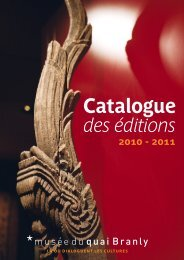 Les collections - musée du quai Branly
