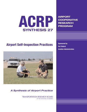Airport Self-Inspection Practices - Transportation Research Board