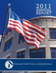 2011 Annual Report - NCUA