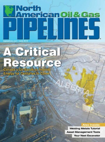 View Full June PDF Issue - North American Oil and Gas Pipelines