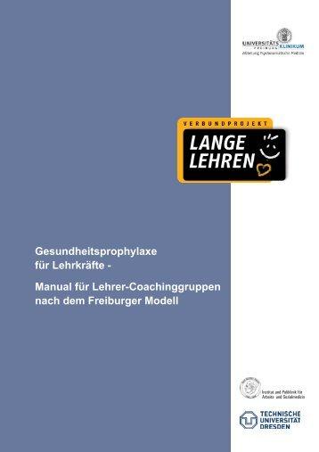 Manual-Freiburg 2:Layout 1.qxd - Prof. Dr. Joachim Bauer
