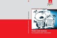 Fördern statt Auslesen - IG Metall Jugend Potsdam