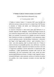 Il Trattato di Lisbona: l'Unione europea a una svolta? di Bruno ...