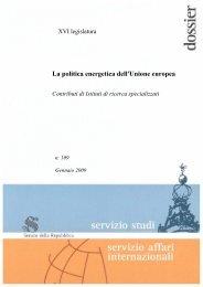 La politica energetica dell'Unione europea - IAI - Istituto Affari ...