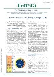 L'Unione Europea e la Strategia Europa 2020 - Ambrosetti