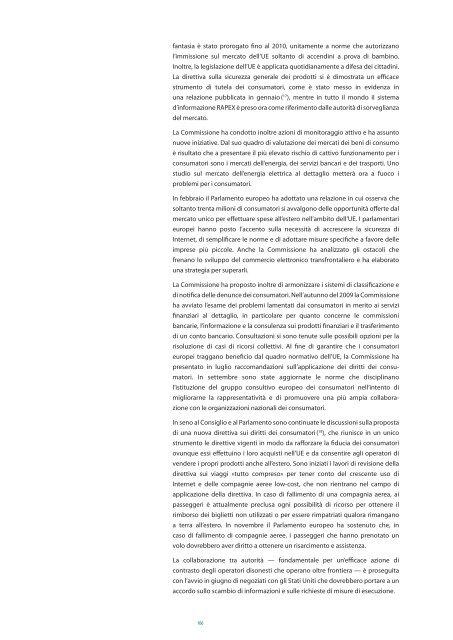 Relazione generale – sull'attività dell'Unione europea - Europa