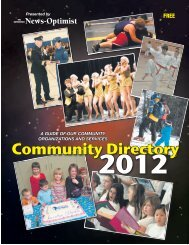 Community Directory - Battlefords News Optimist