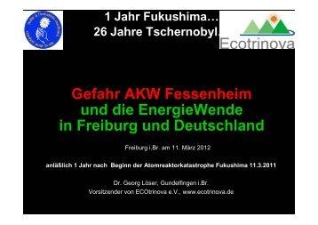 120311 Vortrag Löser- Lacote Fessenh 1 D ... - ECOtrinova eV