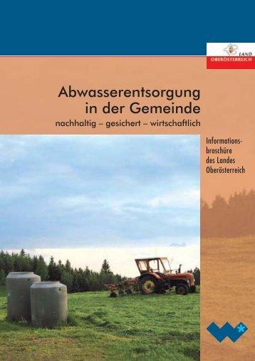 !BWASSERENTSORGUNG IN - Hochwasser Maierhof, Aurolzmünster