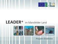 LAG Mansfelder Land - LAG Mansfeld-Südharz