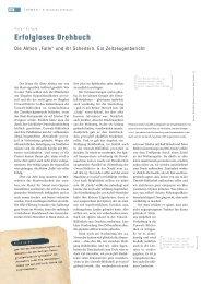 Erfolgloses Drehbuch - Horch und Guck