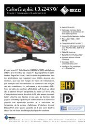 ColorGraphic CG243W - GraphicArt AG