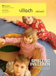 SPIELEND INS LEbEN - Villach