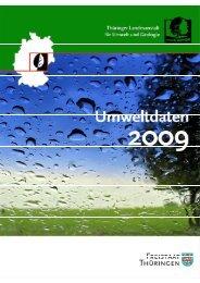 Umweltdaten 2009 - Thüringer Landesanstalt für Umwelt und ...