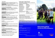 Naturlehrgebiet - Zentrum für Umwelt und Kultur Benediktbeuern