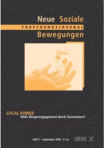 Untitled - Forschungsjournal Soziale Bewegungen
