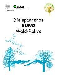 Die spannende BUND Wald-Rallye