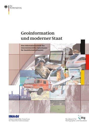 Geoinformation und moderner Staat - des Bundesministerium des ...