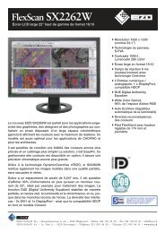 FlexScan SX2262W - GraphicArt AG