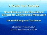 Der Naturerlebnisgarten und Klostermedizingarten in Waldsassen