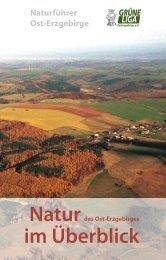 Natur im Überblick - Naturführer Osterzgebirge