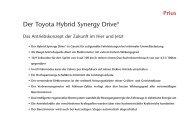 Der Toyota Hybrid Synergy Drive® - Motorline.cc