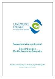 Bioenergieregion Mecklenburgische See nplatte