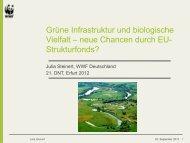 Grüne Infrastruktur und biologische Vielfalt – neue Chancen durch ...