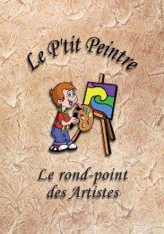 Le rond-point des Artistes - Le p'tit peintre