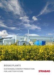 Brochure Biogas Plants - STRABAG Umweltanlagen