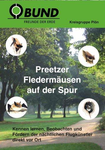 Fledermausbroschüre - BUND-Kreisgruppe Plön