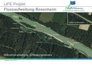 LIFE Projekt Flussaufweitung Rosenheim - Life Drau