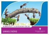 Ein Klimaschutz-Gutscheinheft - Umweltbüro der Evangelischen ...