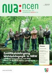 Waldpädagogik - Natur- und Umweltschutz-Akademie NRW