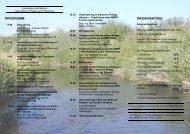 PROGRAMM ORGANISATION - Leichtweiß-Institut für Wasserbau