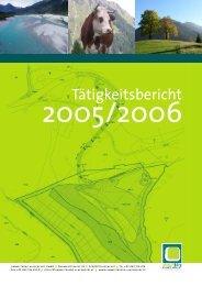 Tätigkeitsbericht - Umweltbuero Klagenfurt