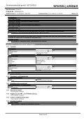 Sicherheitsdatenblatt - Spiess-Urania Chemicals GmbH - Page 6